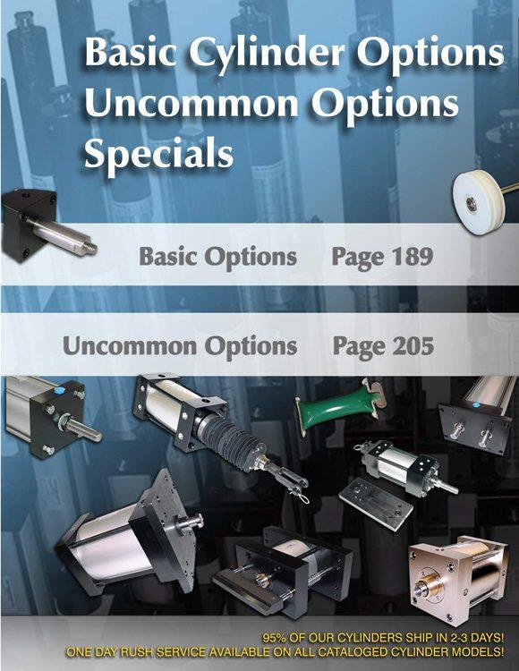 TRD-Cylinder Options Catalog