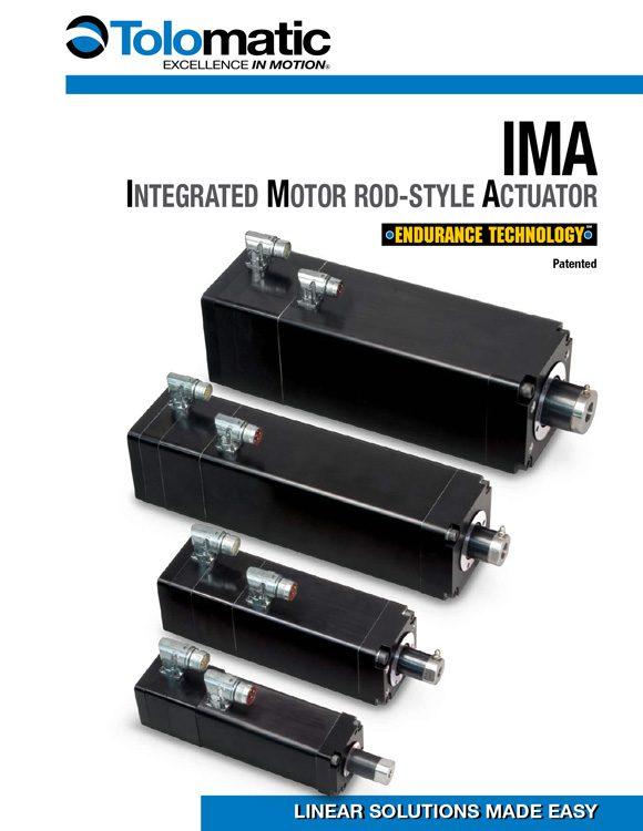 Tolomatic-IMA Integrated Motor Actuator Catalog