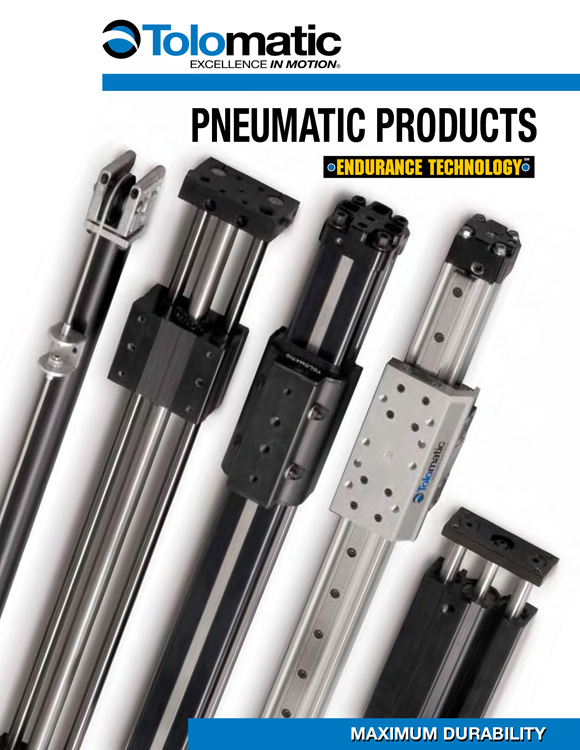 Tolomatic-Pneumatic Products Catalog