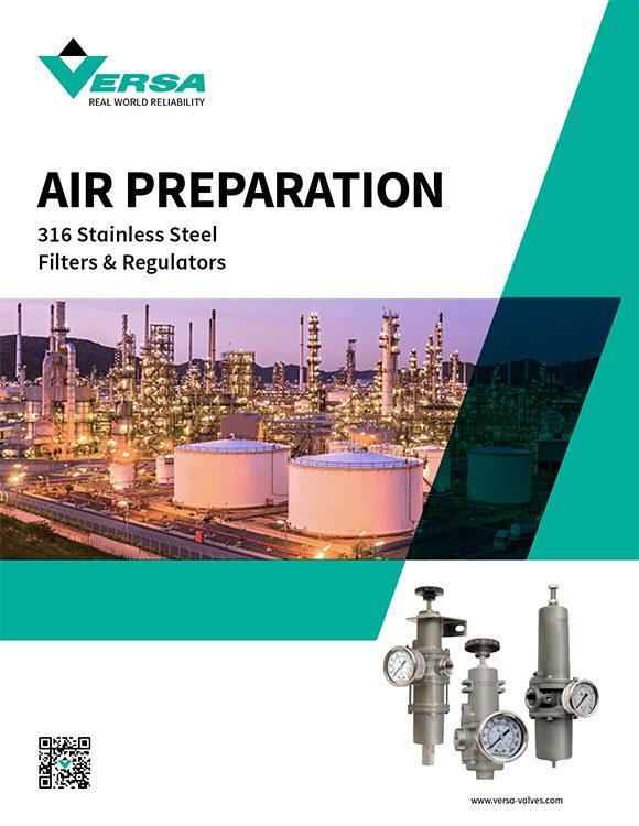 Versa-Air Preparation Catalog