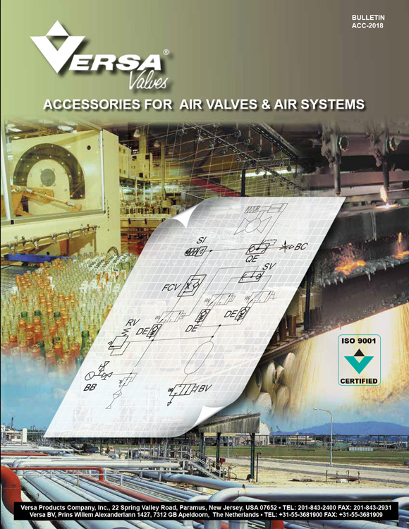 Versa-Air Valve Accessories Catalog