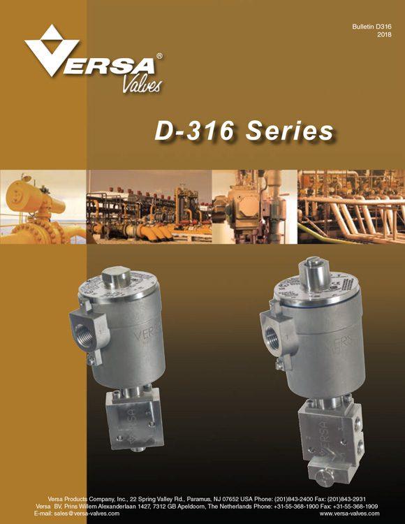 Versa-D316 Series Stainless Steel Solenoid Valves Catalog