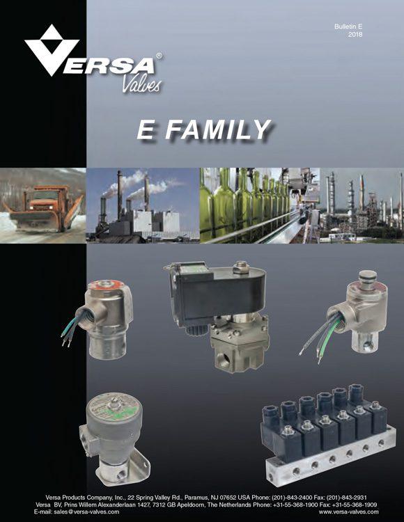 Versa-E Series Stainless Steel Solenoid Valves Catalog
