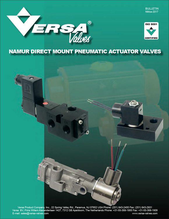 Versa-Namur Valves Catalog