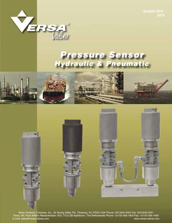 Versa-Pressure Sensor Catalog