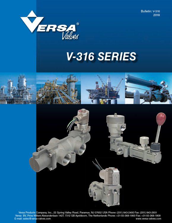 Versa-V316 Series Stainless Steel Solenoid Valves Catalog