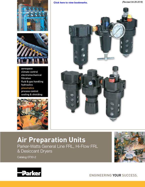 Watts-Air Preparation Units Catalog