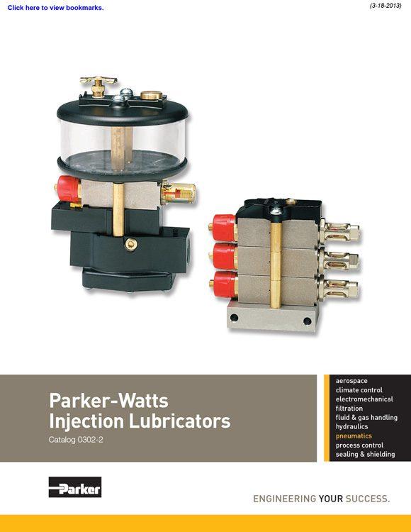 Watts-Injection Lubricators Catalog