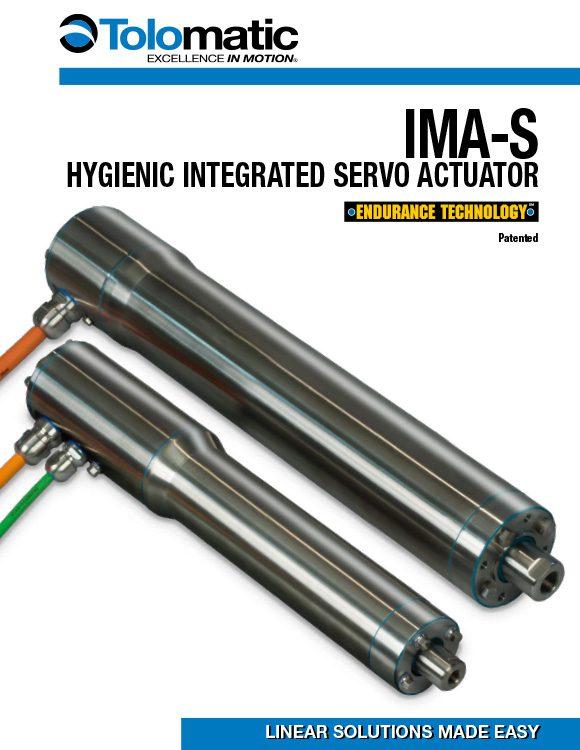 Tolomatic-IMA-S Hygenic Integrated Servo Actuator Catalog