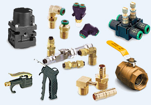 Schrader Bellows Fittings & Connectors