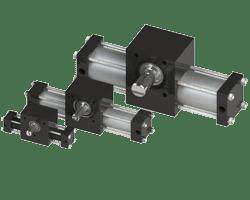 Rotation - Single Rack Tie Rod Rotary Actuators