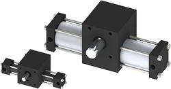 Rotomation - Single Rack Indexing Actuators