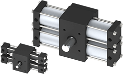 Rotomation - Dual Rack Indexing Actuators