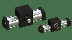 Rotomation - Single Rack Stepping Actuators