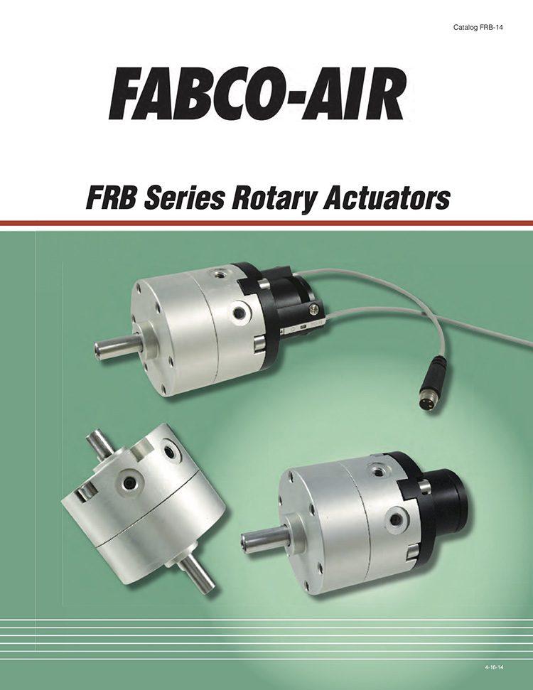 Fabco-FRB Series Rotary Actuators Catalog