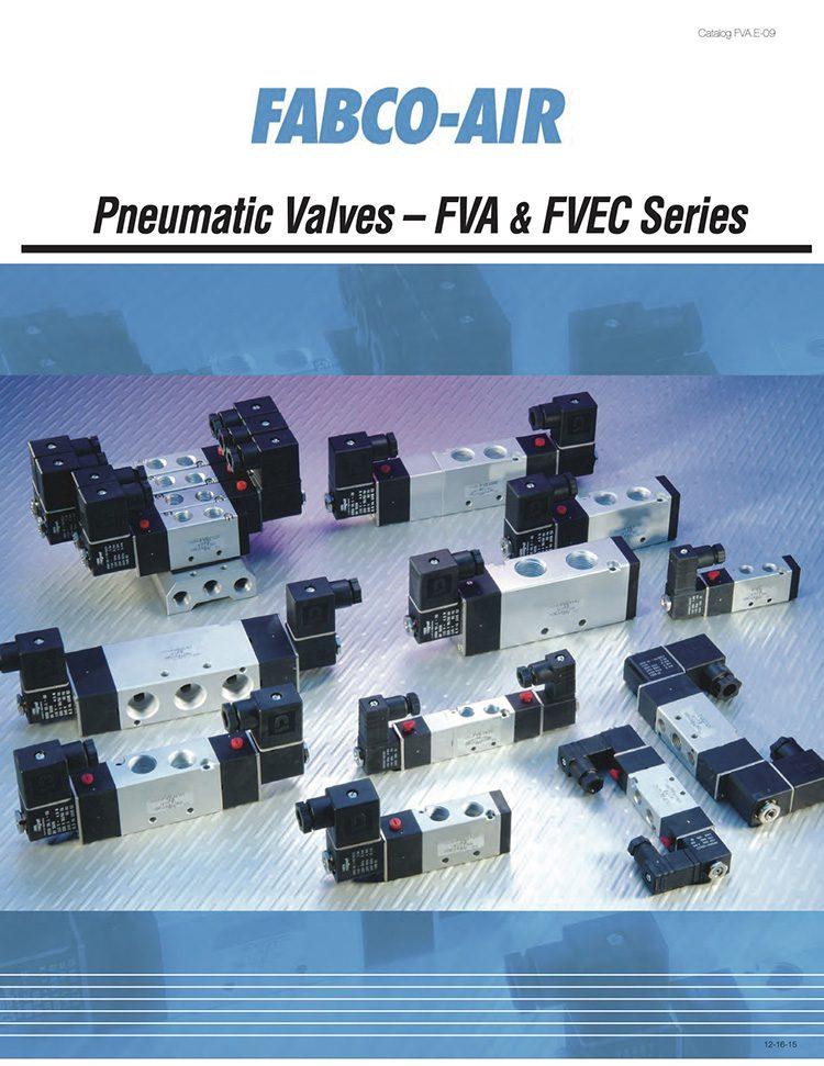 Fabco-FVA, FVEC Series Valves Catalog