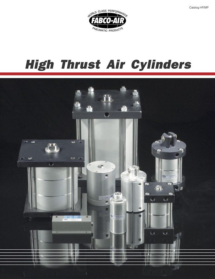 Fabco-High Thrust Air Cylinders Catalog