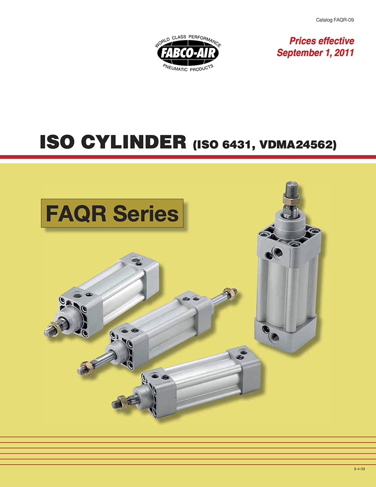 Fabco-ISO Cylinders FAQR Catalog