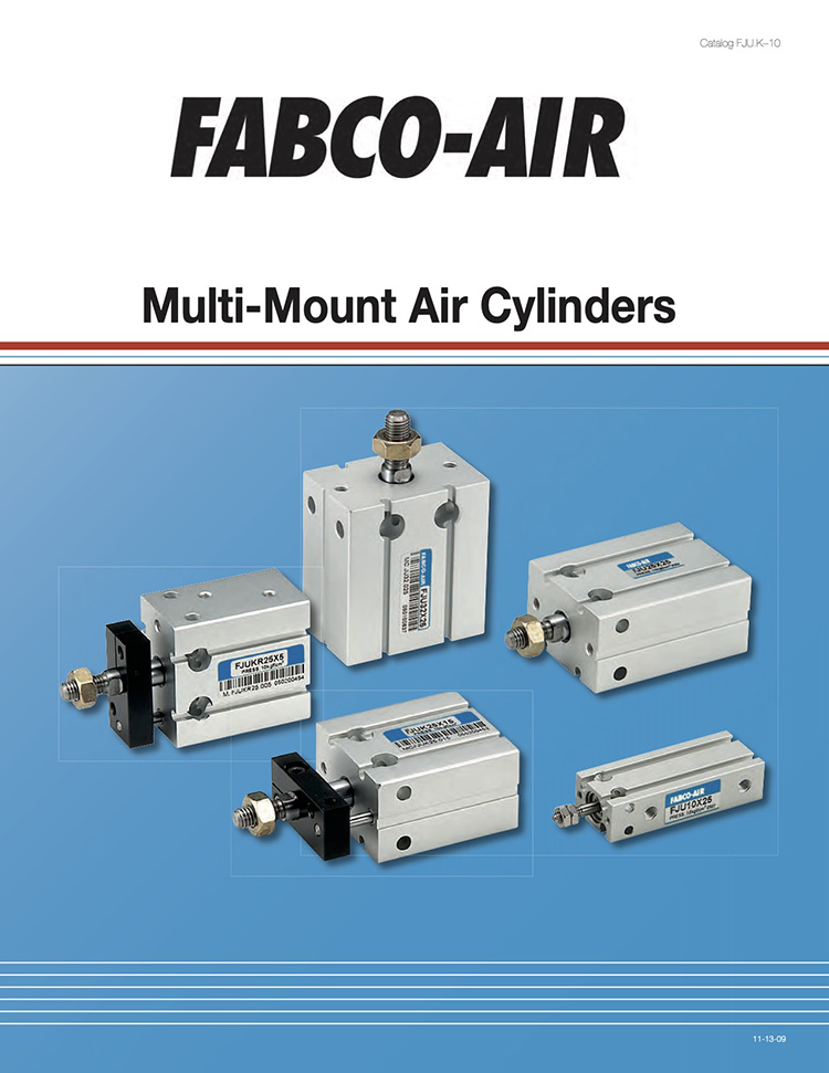 Fabco-Multimount Air Cylinders Catalog
