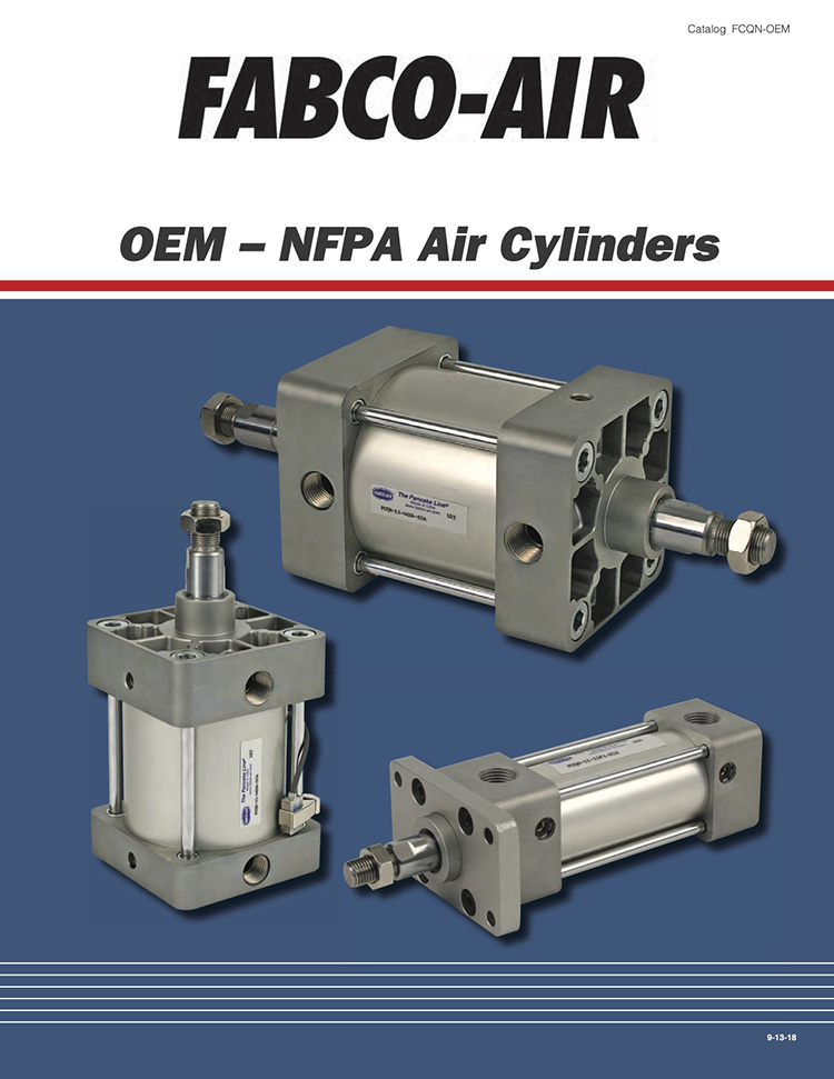 Fabco-NFPA Air Cylinders Catalog