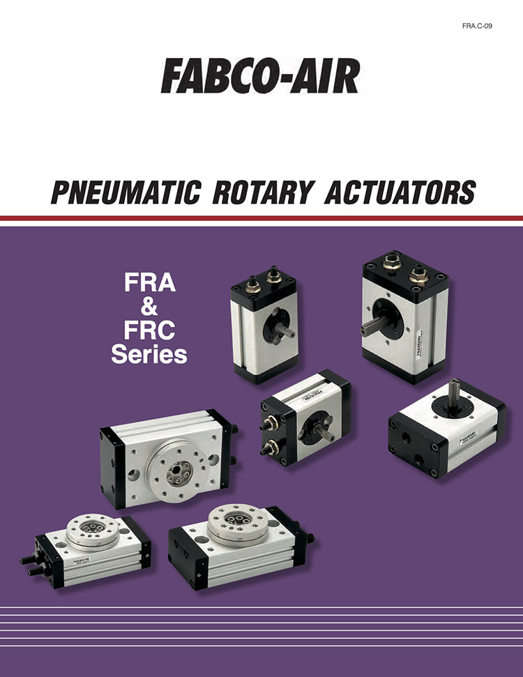 Fabco-Pneumatic Rotary Actuators Catalog