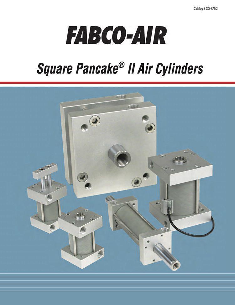 Fabco-Square Pancake Air Cylinders Catalog