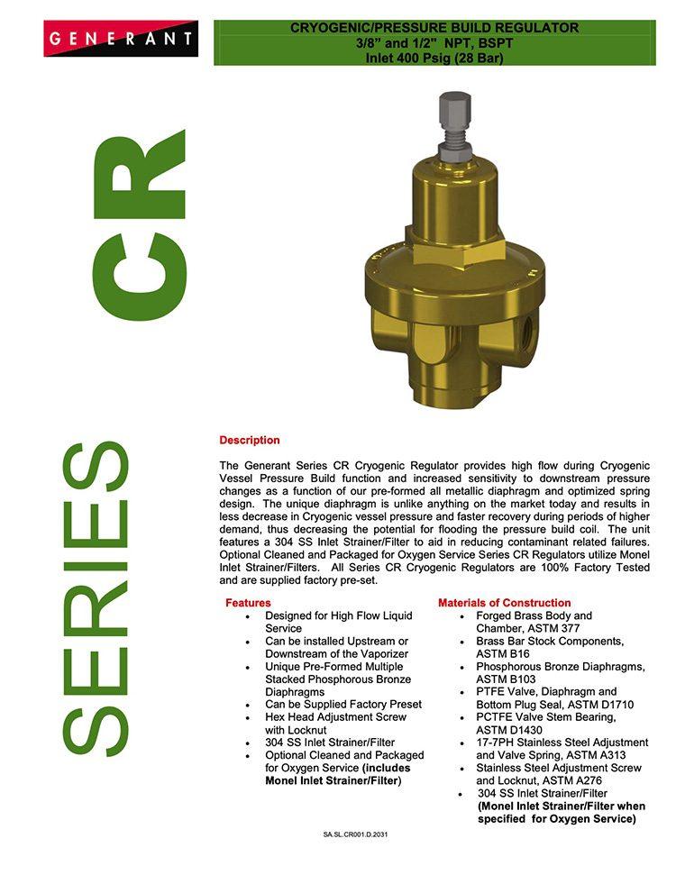 Generant-Series CR Catalog