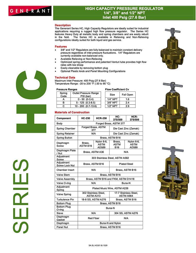 Generant-Series HC Catalog