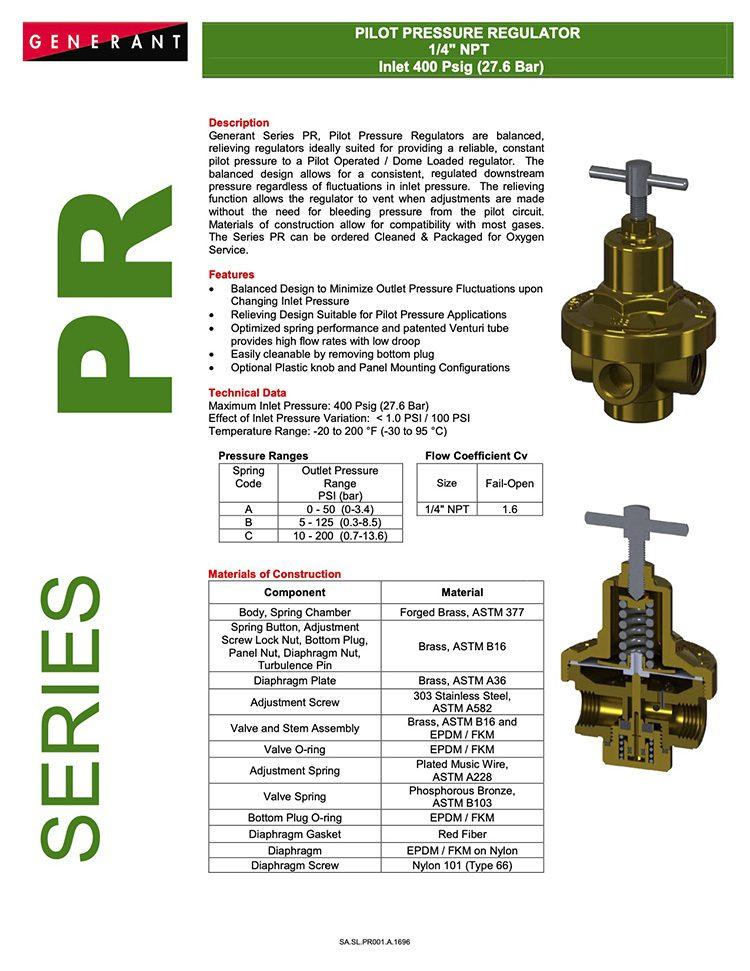 Generant-Series PR Catalog