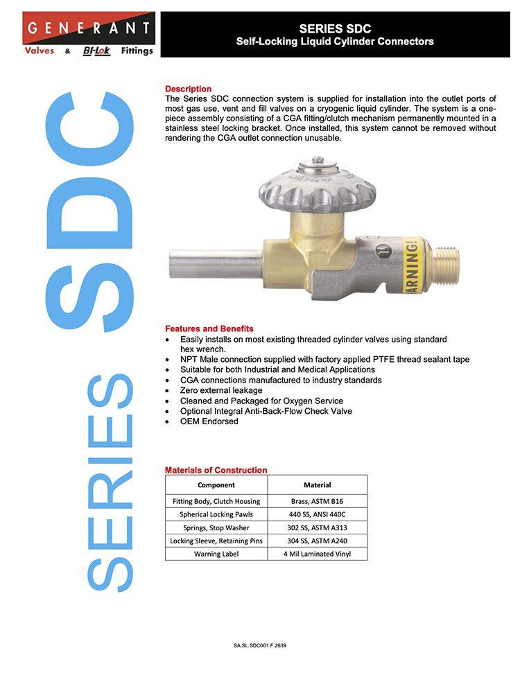 Generant-Series SDC Catalog