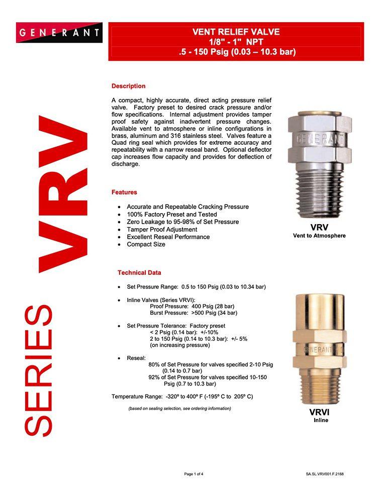 Generant-Series VRV Catalog