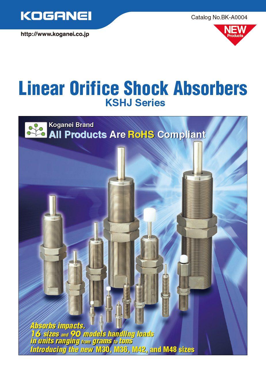 Koganei-Linear Orifice Shock Absorbers Catalog