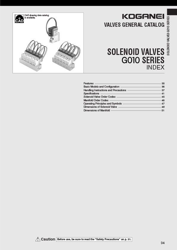 Koganei-Valves Catalog Catalog