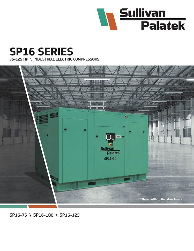 Sullivan Palatek- SP16 Series Compressors Catalog